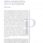 E. Enriquez, Per un approccio psico-sociologico alla valutazione